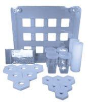 Tube-O-Array™ dialyzer tray for Tube-O-DIALYZER™