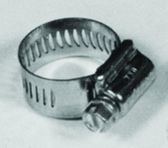 "Chrome Braided Hose Connector Clamp for 5//16/"" 8mm Inner Diameter Line"