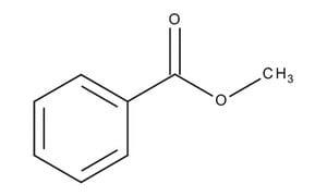 Methyl benzoate | Sigma-Aldrich  Methyl Benzoate Structural Formula