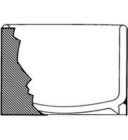 Aldrich® low form dewar flask capacity 275 mL, hemispherical, inside