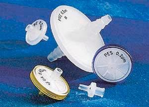 Corning® syringe filters PTFE membrane, diam  25 mm, pore size 0 45