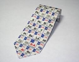 Periodic table mens silk necktie pkg of 1 ea sigma aldrich periodic table mens silk necktie pkg of urtaz Choice Image