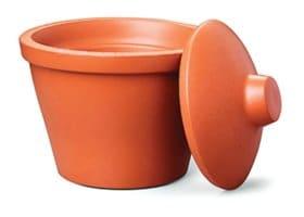 Corning® Ice Bucket with lid, round