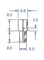 Precision Seal® rubber septa