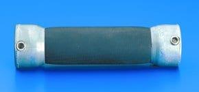 Flexible stirrer shaft coupling for glass shaft O D , 19 mm