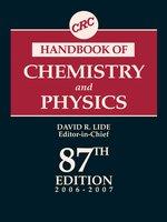 CRC Handbook of Chemistry and Physics 87th ed  | Sigma-Aldrich