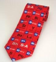 Periodic table mens silk necktie red sigma aldrich periodic table mens silk necktie red urtaz Gallery