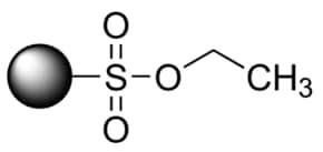 Ethylsulfonate, polymer-bound