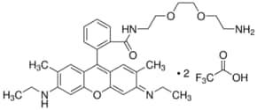 N-(8-Amino-3,6-dioxaoctyl)rhodamine 6G-amide bis