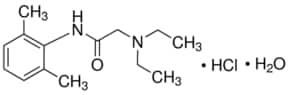 properties of lidocaine hydrochloride