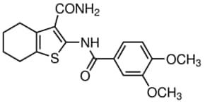 2-(3,4-Dimethoxy-benzoylamino)-4,5,6,7-tetrahydro-benzo[b]thiophene-3-carboxylic acid amide