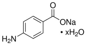 4-Aminobenzoic acid sodium salt hydrate