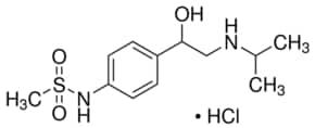 sotalol hydrochloride ≥98% (tlc), powder | sigma-aldrich, Skeleton