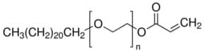 Poly(ethylene glycol) behenyl ether methacrylate solution