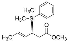 (3S,4E)-Methyl 3-(dimethylphenylsilyl)-4-hexenoate