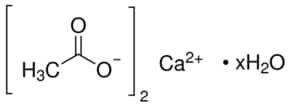 Calcium acetate hydrate