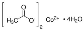 Cobalt(II) acetate tetrahydrate ACS reagent, ≥98.0%