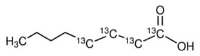 Octanoic acid-1,2,3,4-13C4