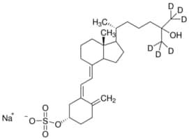 25-Hydroxyvitamin D3-26,26,26,27,27,27-d6 sulfate sodium salt solution