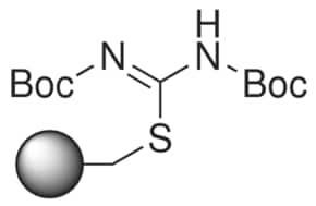 Bis-Boc-thiopseudourea, polymer-bound