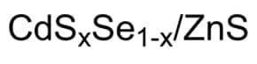 CdSeS/ZnS alloyed quantum dots kit