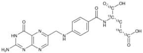 Folic acid-(glutamic acid-13C5)