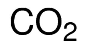 Carbon dioxide (99 8%) cylinder of 14 L, analytical standard