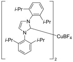Bis(1,3-bis(2,6-diisopropylphenyl)imidazol-2-ylidene)copper(I) tetrafluoroborate