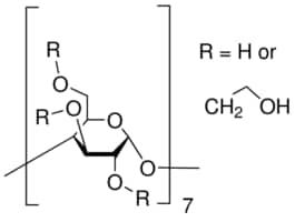(2-Hydroxyethyl)-β-cyclodextrin extent of labeling: ~0.7 mol