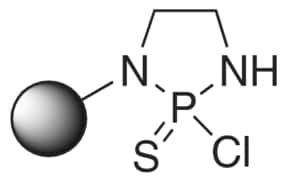 2-Chloro-1,3,2-diazaphospholidine-2-sulfide, polymer-bound