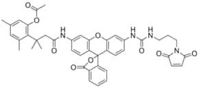 Maleimidolinourea-Rh110-trimethyl lock