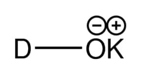 Potassium deuteroxide solution