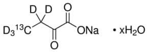 2-Ketobutyric acid-4-13C,3,3,4,4,4-d5 sodium salt hydrate