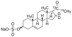 Pregnenolone-20,21-13C2-16,16-d2 sulfate sodium salt