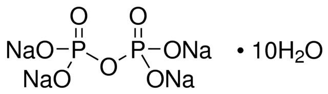 Sodium pyrophosphate decahydrate | Sigma-Aldrich