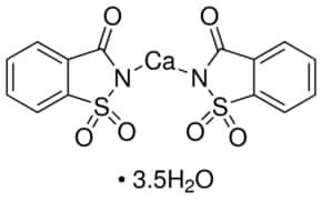 Saccharin calcium