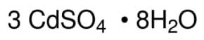 Cadmium sulfate 8/3-hydrate