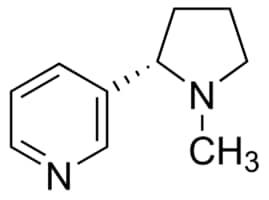 −)-Nicotine ≥99% (GC), liquid | Sigma-Aldrich