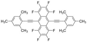 1 2 3 4 5 6 7 8 Octafluoro 9 10 bis 2 2 4 6 trimethylphenyl ethynyl anthracene