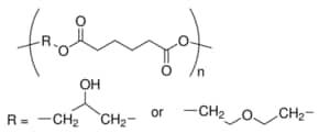 Poly[di(ethylene glycol)/glycerol-alt-adipic acid], polyol average