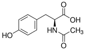 Resultado de imagem para n acetil tirosina