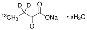 2-Ketobutyric acid-4-13C,3,3-d2 sodium salt hydrate