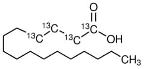 Palmitic acid-1,2,3,4-13C4 99 atom % 13C, 99% (CP) | Sigma-Aldrich