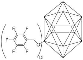 Dodeca(2,3,4,5,6-pentafluorobenzyloxy)-hypercloso-dodecaborane