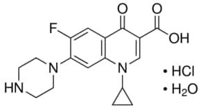 ciprofloxacin hydrochloride monohydrate pharmaceutical secondary