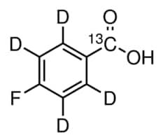 4-Fluorobenzoic acid-α-13C-2,3,5,6-d4