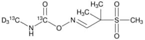 Aldicarb-(N-methyl-13C,d3,carbamoyl-13C) sulfone