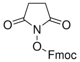 Fmoc N-hydroxysuccinimide ester ≥98 0% (HPLC)   Sigma-Aldrich
