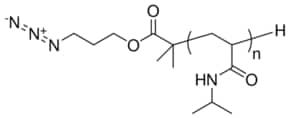 Poly(N-isopropylacrylamide) azide terminated