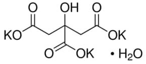 Potassium citrate tribasic monohydrate